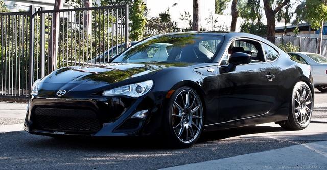 japoński sportowy samochód, coupe, piękny, design, 日本車 スポーツカー チューニングカー, Scion FR-S