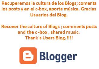 Recuperación de la Cultura Blogger