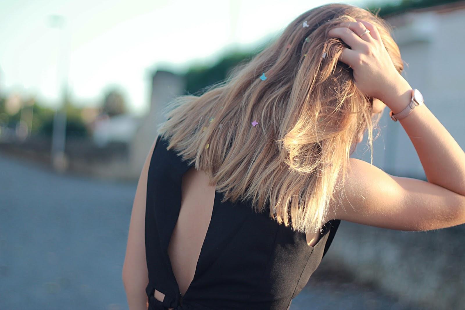 Cheveux blonds coupe carré