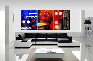 "Abstract Painting ""Transfigured Insight"" by Dora Woodrum"