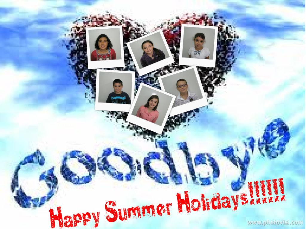 Happy Summer Holidays Hi Friends