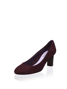 MyHabit: Up to 60% off: Delman Shoes:Marli Pump - Classic silhouette with a woven vamp, chunky stacked heel with walkable height