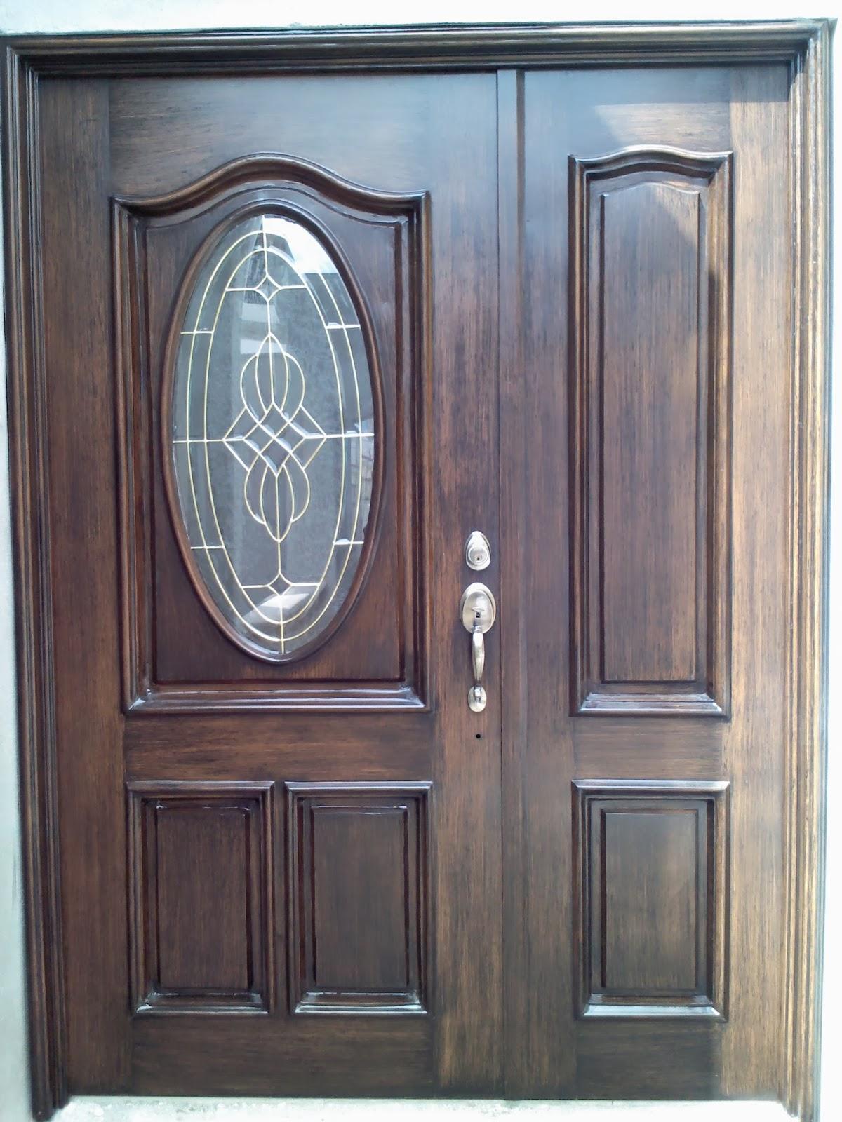 San jose herreria residencial for Puertas de madera con herreria