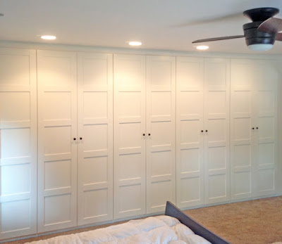My Favorite Part Of Our New Master Bedroom Addition Is Definitely The Ikea Pax  Wardrobe Wall. At First We Considered A Walk In Closet For The 18X18 Room,  ...