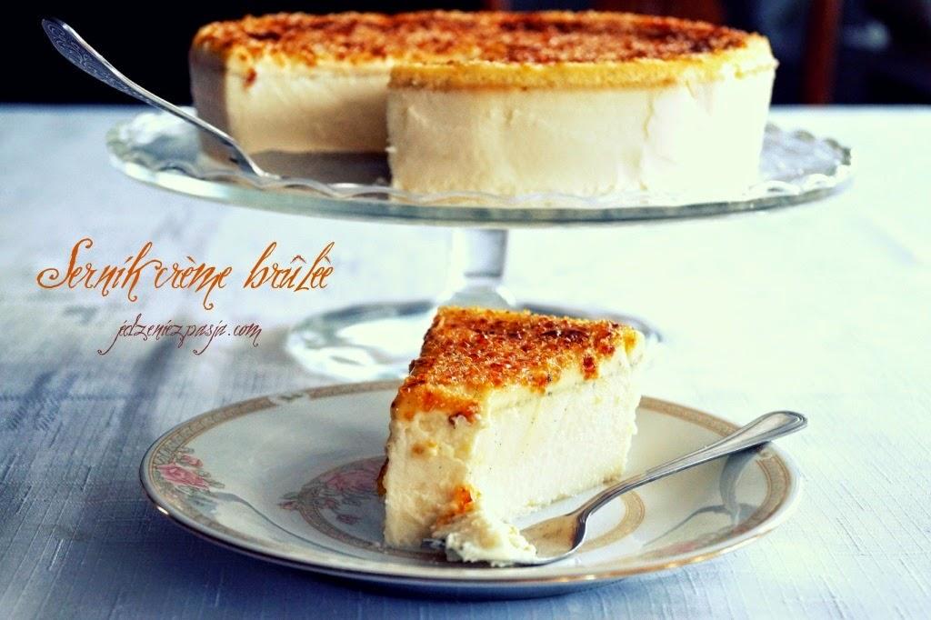 Sernik crème brûlèe