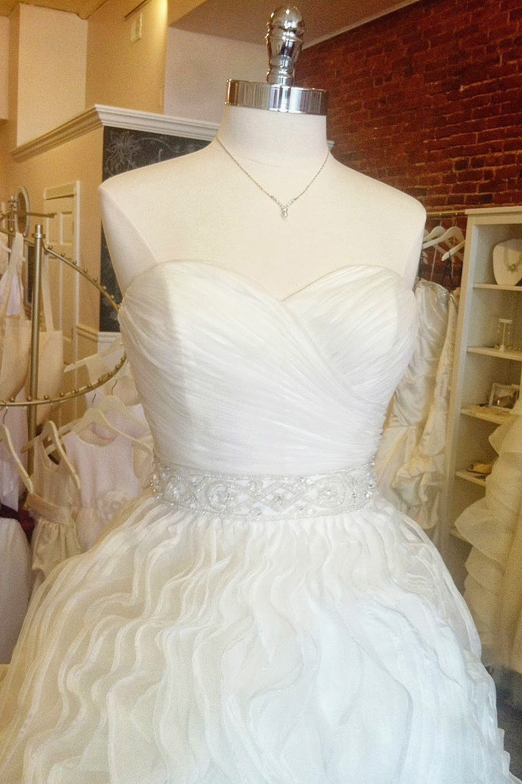 Sneak Peek Of The New 2014 Ariel Gown From Alfred Angelo Disneys Fairy Tale Wedding Collection