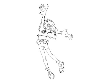 #11 Terra Coloring Page