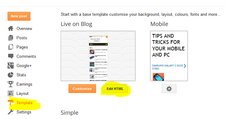 How to backup Blogger Blog and Template