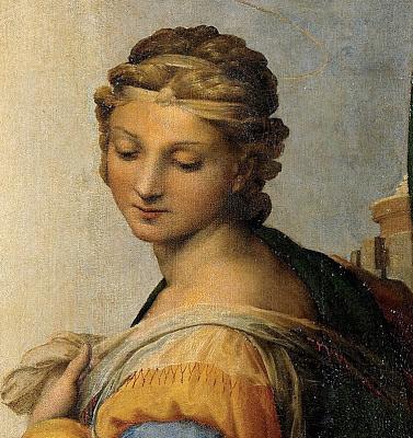Sistine Madonna Detail In the sistine madonna Sistine Madonna Detail