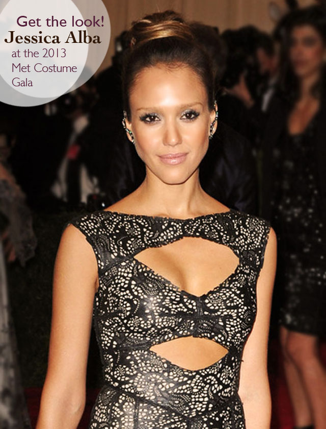 Jessica Alba at the Met Ball 2013