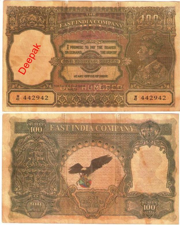 Old Money Notes Old*indian*money C.d.deshmukh
