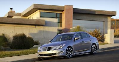2012 Hyundai Genesis sedan silver