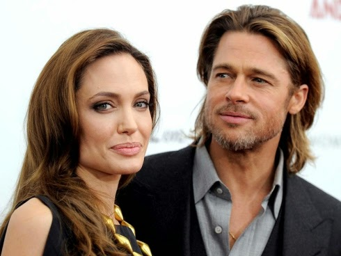 Akhirnya pasangan hangat Hollywood Brad Pitt dan Angelina Jolie kahwin