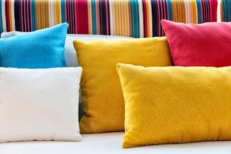Almofadas no Sofá
