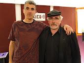 Con Adrián Jimenez