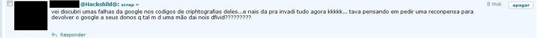 hacker google portugues ruim