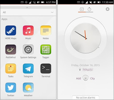 Ubuntu phone 15.04 apps new look here