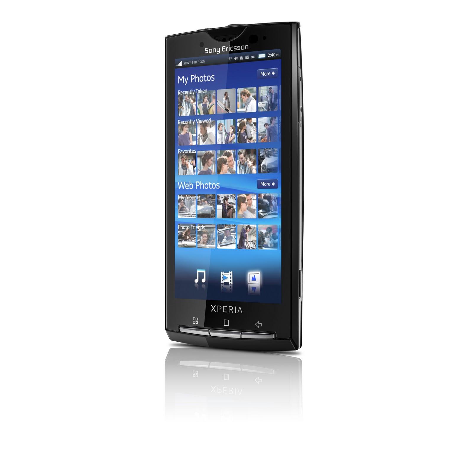 Sony Ericsson W8 Walkman phone platform Android First ...