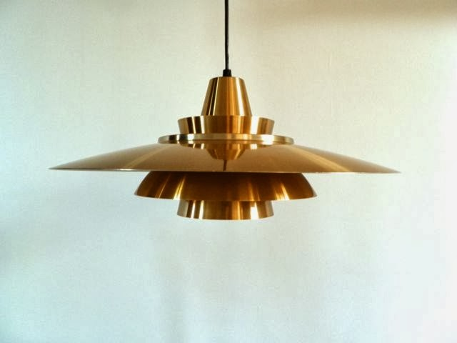 Standerlampe Kobber