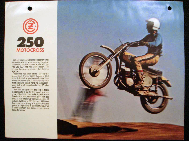 Jawa Cz 250 Motocross ulotka a