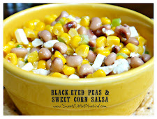 Black-Eyed Peas &amp; Sweet Corn Salsa