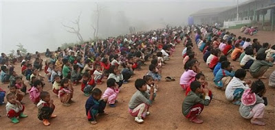 >students in Shan State Army's school