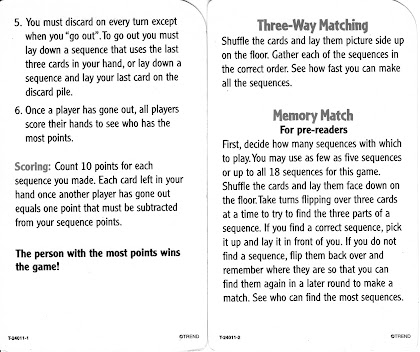 sequence rummy game play