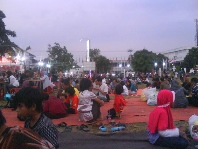 Ramadhan di Alun-alun kota Magelang