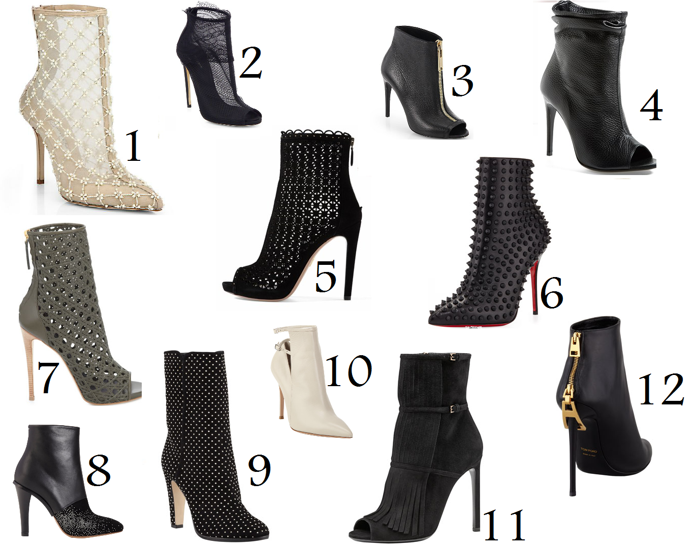 Stand Out, Above the Crowd: Wishing Wednesdays: Booties