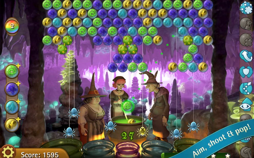 bubble witch online