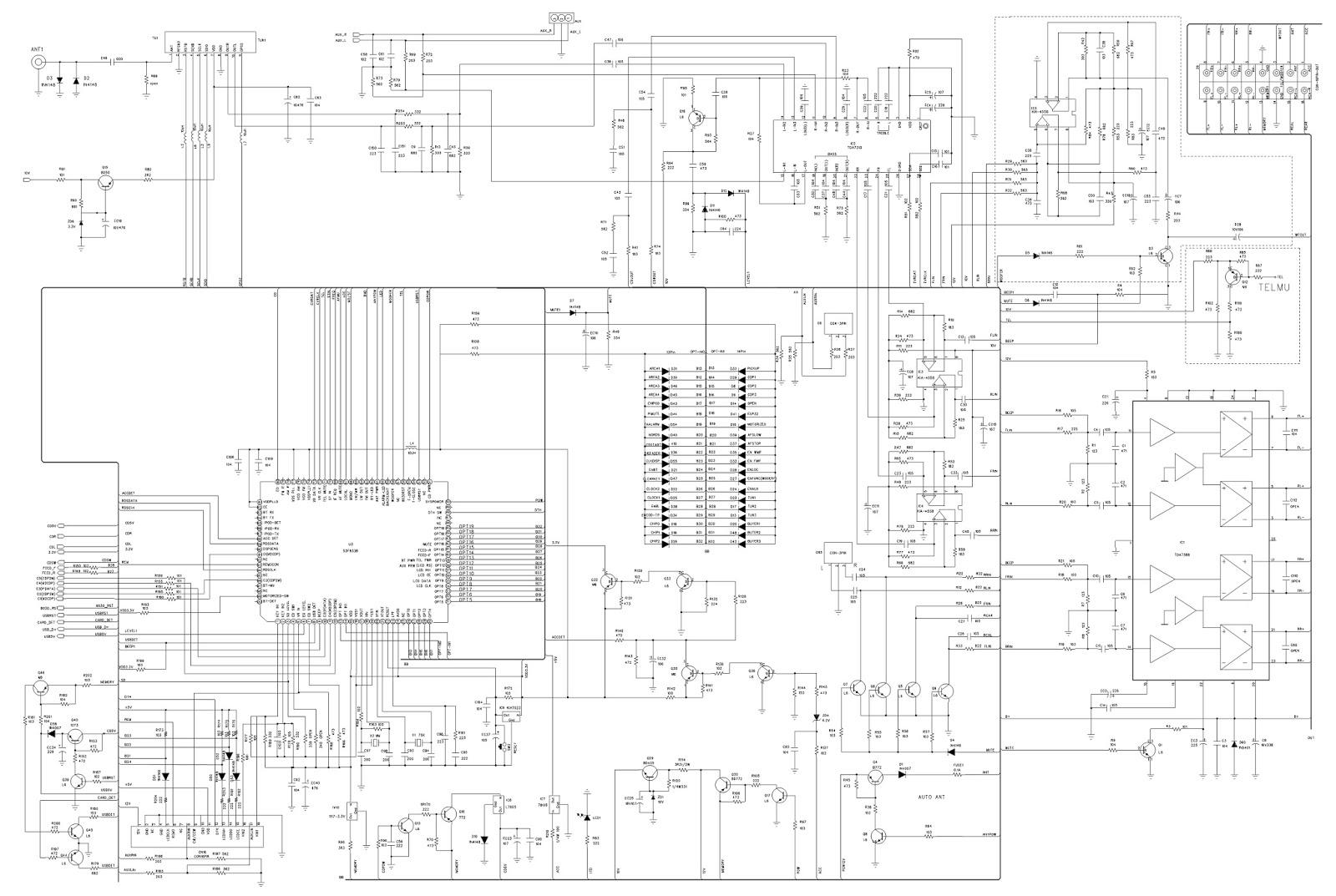 PHILCO PCA 230 - AUTO RADIO - SCHEMATIC DIAGRAM [Circuit Diagram ...