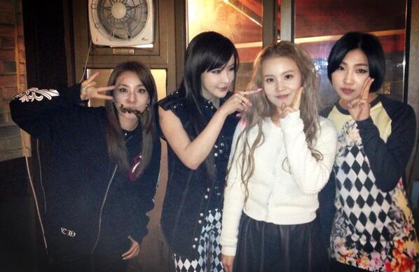 2NE1 & Lee Hi