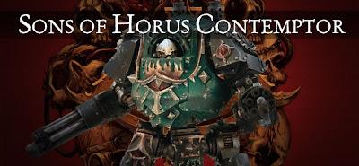 Dreadnought Contemptor de los Hijos de Horus