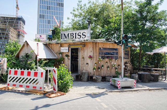 Baustelle Birdhouse Imbiss nähe Großbaustelle, ein kleines Meisterwerk, Heidestraße / Döberitzer Straße, 10557 Berlin, 03.08.2015