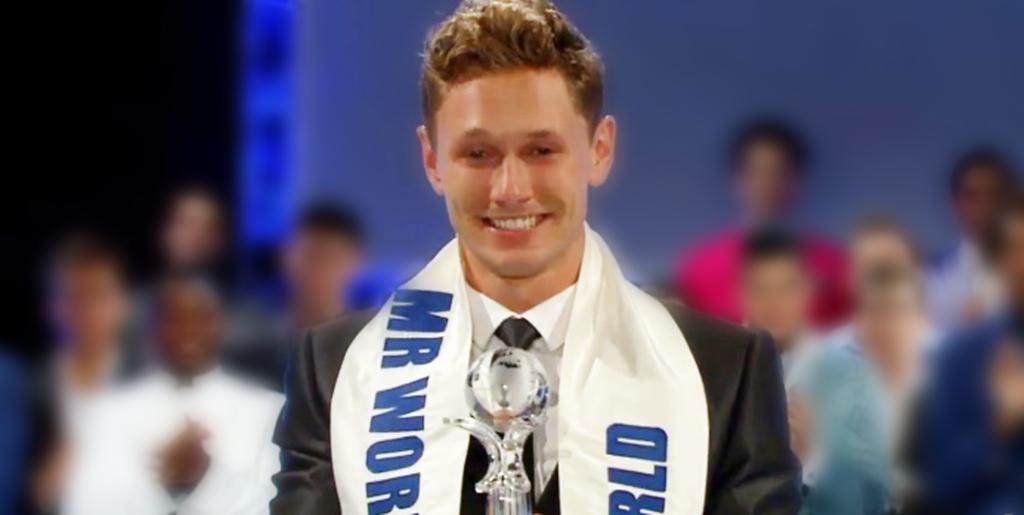 Mr World 2014 title holder Nicklas Pedersen