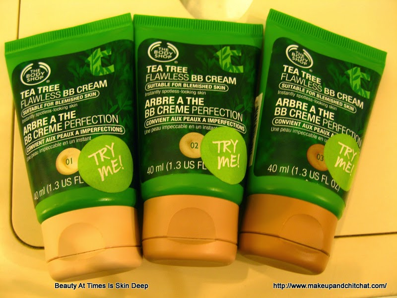 Pictures of The Body Shop Tea Tree BB Cream