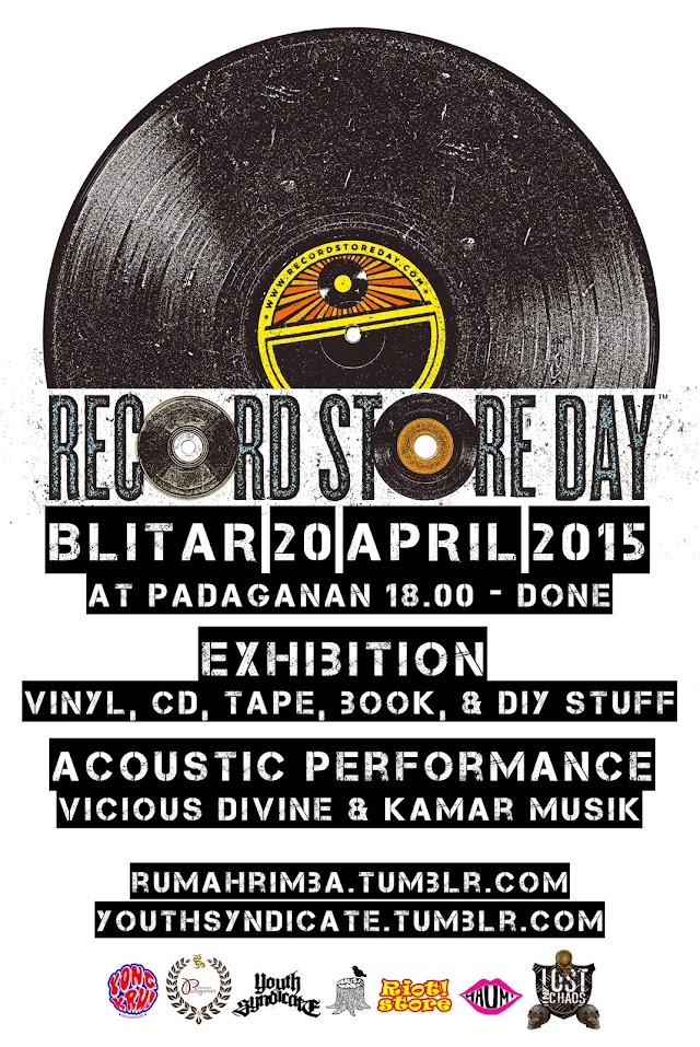 BLITAR RECORDS STORE DAY on 20 APRIL 2015