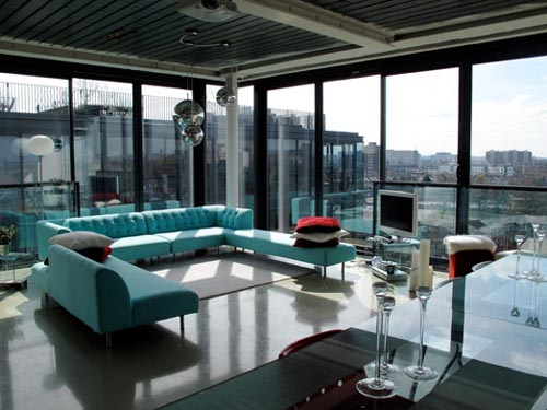 Fresh modern design penthouse london architecture - Fresh modern decor ...