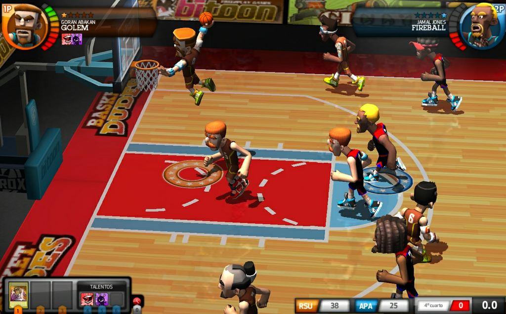 basket dudes juego