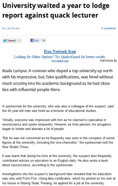 Malaysia in crisis degree for sale university students have to work hard towards achieving their degree scroll and yet there are some who easily purchase their university degree without yelopaper Gallery