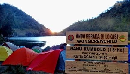 lokasi camping di ranu kumbolo