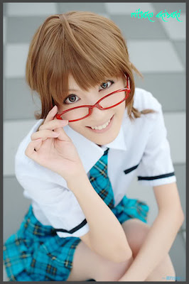 iDOLM@STER Break THE-iDOLM%2540STER-Cosplay-Ritsuko-Akizuki-5-byChamaro
