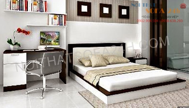 Giường ngủ GN066