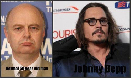 Normal 50 Year Old Man vs. Johnny Depp