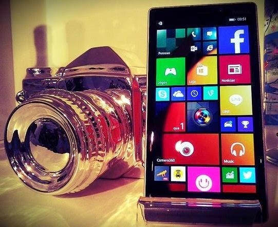 O Lumia 930 é 4G e tem uma super câmera de 20 megapixels