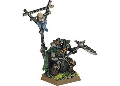 Skaven Warlord and Stormvermin unit photo