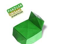 Panduan Membuat Origami Kursi
