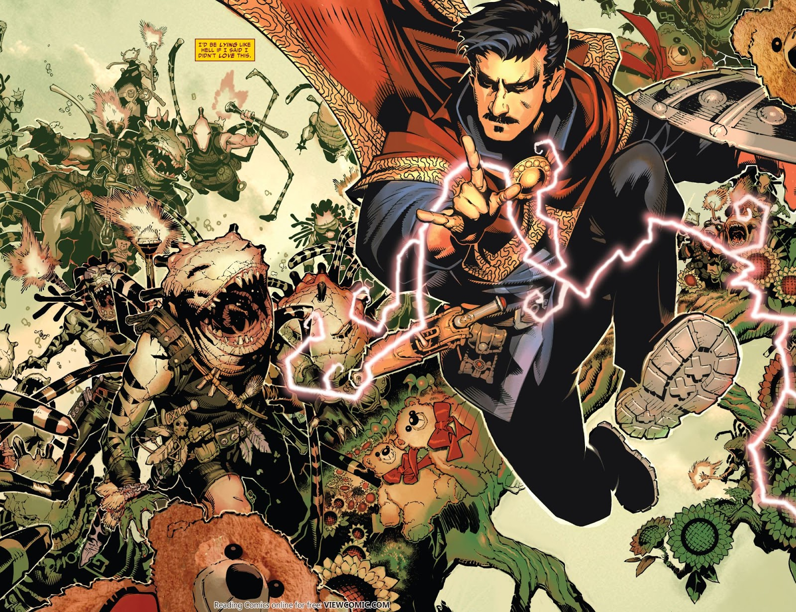 Doctor Strange v4 001 (2015) …………… | Viewcomic reading comics ...