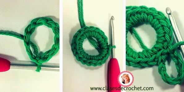 paso a paso crochet, frutilla cocina