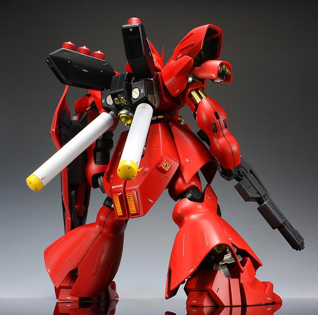 MG Sazabi figures